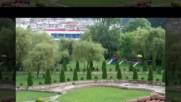 В градината на хотел Диамант