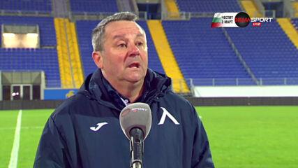 Славиша Стоянович: Трябваше да напомня на някои играчи какво значи да играеш за Левски