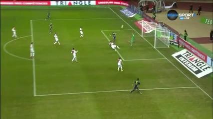 Монако - Каен 0:0 /първо полувреме/