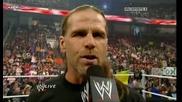 Wwe Raw 22.03.10 Undertaker праща послание на Hbk