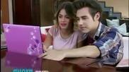 Violetta 3: Виолета и Леон гледат видеото на Descubri (еп.63)