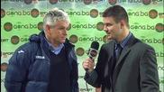 Стойчо Стоев: Доволен съм, но имаме слабости в защита