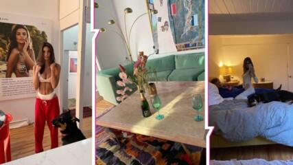 Лукс и стил за милиони: Емили Ратайковски показа дома си