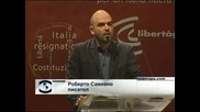Интелектуалци оглавиха протестите срещу Силвио Берлускони в Милано