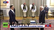 Greece: Tsipras sworn in as Greek PM for second time in 2015