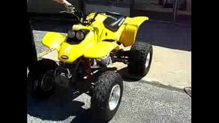 Honda Trx400 Звук