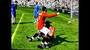 Как реагира Димитър Бербатов след гола си срещу Челси(смях) - Fifa 09