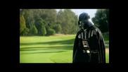 Darth Vader Играе Голф