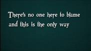 3 Doors Down - What's Left (screen Lyrics)