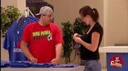 Смях! Жени свиват блузи пред изумените си съпрузи - скрита камера
