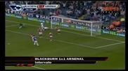 28.08.2010 Блекбърн 1 - 1 Арсенал гол на Маме Бирам Диуф