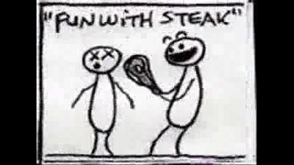 Fun With Steak (анимация)