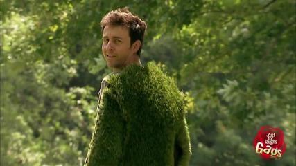 Човек от трева - Скрита камера