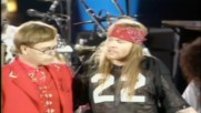 Queen Elton John and Axl Rose - Bohemian Rhapsody - 1992 - Live at Londons Wembley Stadium - Hd 720p