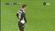 Димитър Бербатов се появи в игра за ПАОК