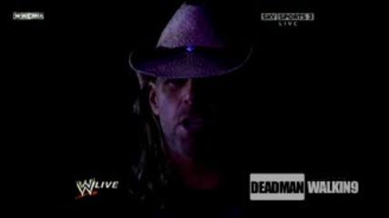 Shawn Michaels `погребва` 16 - те победи на Гробаря на Кечмания! Гробаря побеснява! - Raw - 23.3.200
