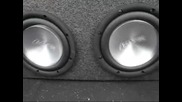 Bass Test - Eclipse Sw7000 Subs & Infinity 1600a Amps