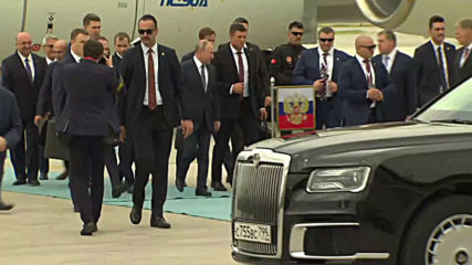 Turkey: Putin arrives in Ankara for trilateral Syria summit
