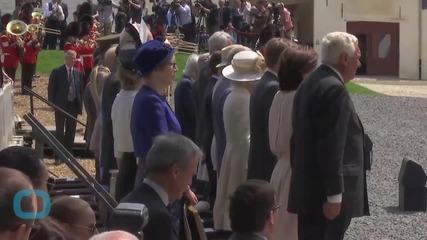 Prince of Wales Unveils Waterloo Memorial