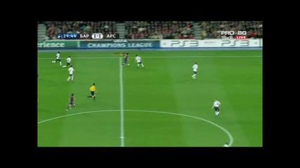 Лео Меси се развихри срещу Арсенал Hq