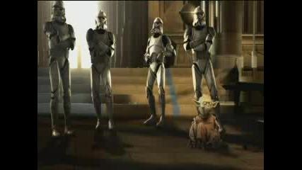 Dancing Yoda