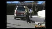 Skater Разрушава Groin - Удря Се Много