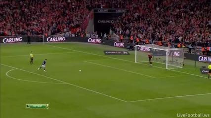 Liverpool vs Cardiff city дузпи - Carling Cup финал