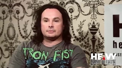 Heavy Tv interviews Dani Filth
