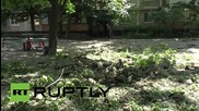 Ukraine: Two civilians wounded in shelling of Donetsk's Oktyabrsky district