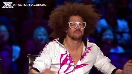 Талантливи и красиви! X-factor Австралия 2013
