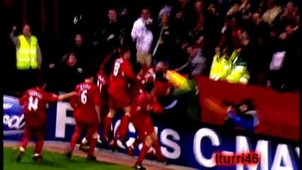 Steven Gerrard сърцето на Ливърпул!