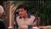 Двама Мъже И Пловина Two and a Half Men 2 x 24 - Does This Smell Funny to You Dvdrip