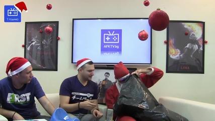 Ivozaki като Дядо Коледа - Afk Tv епизод 48