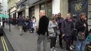 UK: Hundreds of Londoners queue for mystery tattoo at the 'Whole Glory' popup studio