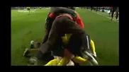 Челси 1:1 Барселона(испанския коментатор полудява след попадението на Иниеста)