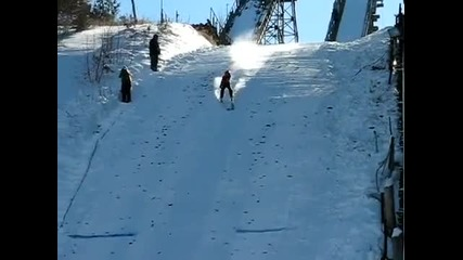 60 метра търкаляне със ски