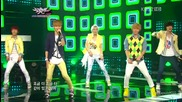 (hd) Touch - Let's walk together (goodbye stage) ~ Music Bank (01.06.2012)