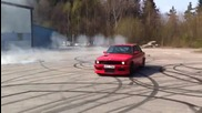 Червеният звяр! Olsn e30 m50b25 turbo. Sc58 Billet 1,4 Bar Boost