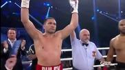 Страхотна победа на Кубрат Пулев срещу Морис Харис още в първия рунд