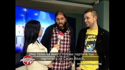 DJ Tarkan и V-Sag: Обичаме България, тук знаят всичките ни тракове