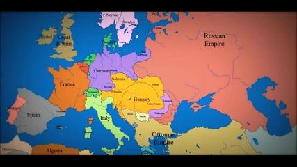 Европейските гранични промени през последните 1000 години