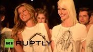 Жизел Бюндхен за последен път на модния подиум