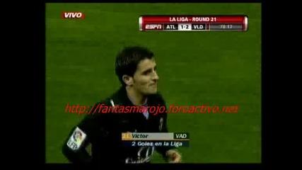 01.02 Атлетико Мадрид - Валядолид 1:2 Виктор Победен Гол