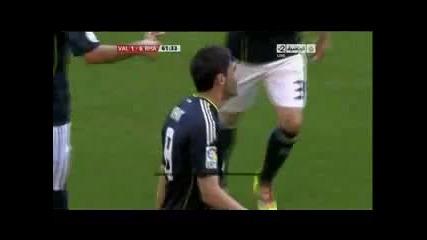 23.04.2011 Валенсия 1-6 Реал Мадрид втори гол на Кака