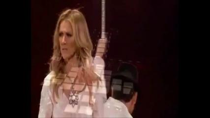/превод/ Celine Dion - It s a man s world [live Taking chanes tour 2008] | Селин Дион - турне