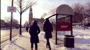Нагреватели в автобусна спирка, задействащи се само от човешката енергия!