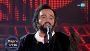 Марги като Luciano Pavarotti -