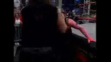 Jeff Hardy Vs Abyss (street Fight)