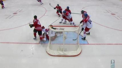 Световно първенство по хокей: Канада - Чехия 4:3