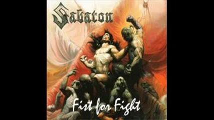 Sabaton - Burn Your Crosses - Fist For Fight - превод